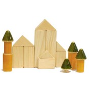 Wooden Building Blocks toy for 3 to 5 years. Eco-friendly