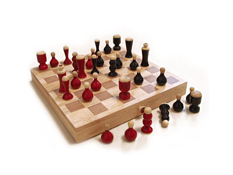 Chess Set (250mm x 250mm ) Maya Organic