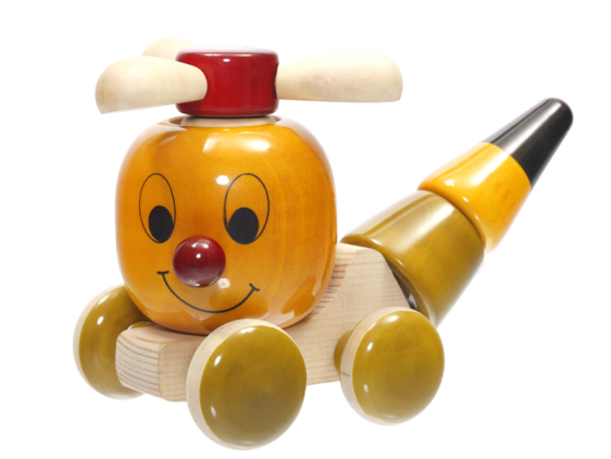 Chip Chop - Chennapatna wooden build and push toy. Buy Online India