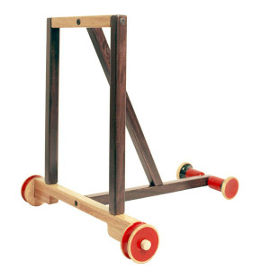Wooden Baby walker in brown. Buy Online India