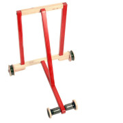 Classic Wooden Baby walker in Red. Buy Online India
