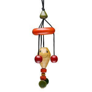 Dangler kite, channapatna toys, 0 to 1 year, maya organic, wooden