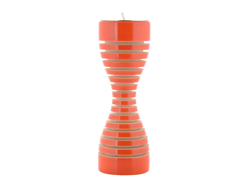 Lune candle Holder Orange