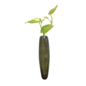 Magnetic Fridge vase Green