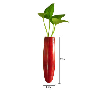 Magnetic Fridge vase Red2