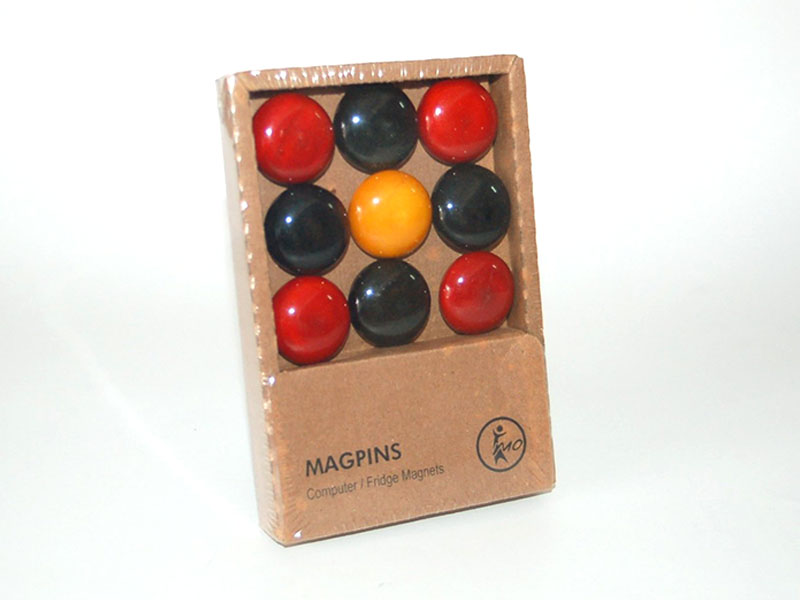 Magpins - Black & Red