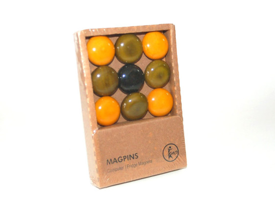 Magpins - Green & Yellow