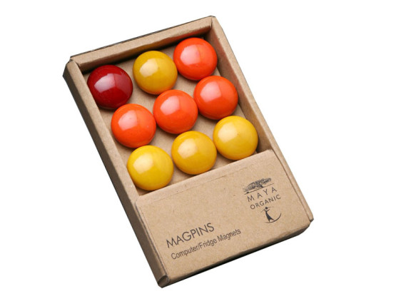 Magpins - Orange & Yellow