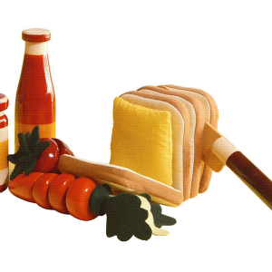Picnic Set - Maya Organic - Channapatna Toys - 3 to 5 years