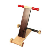 Scootle Brown 1_Maya Organic Channapatna Wooden toy_ Baby Walker