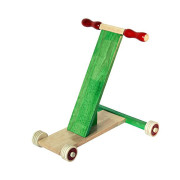 Scootle Green 1_Maya Organic Channapatna Wooden toy_ Baby Walker