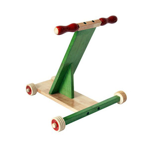 Scootle wooden baby walker – Green. Buy Online India