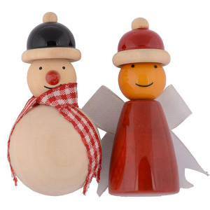 Snowman & fairy Fridge magnets