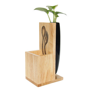 Storage plant holder black - DINR