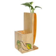 Storage plant holder yellow - IVY