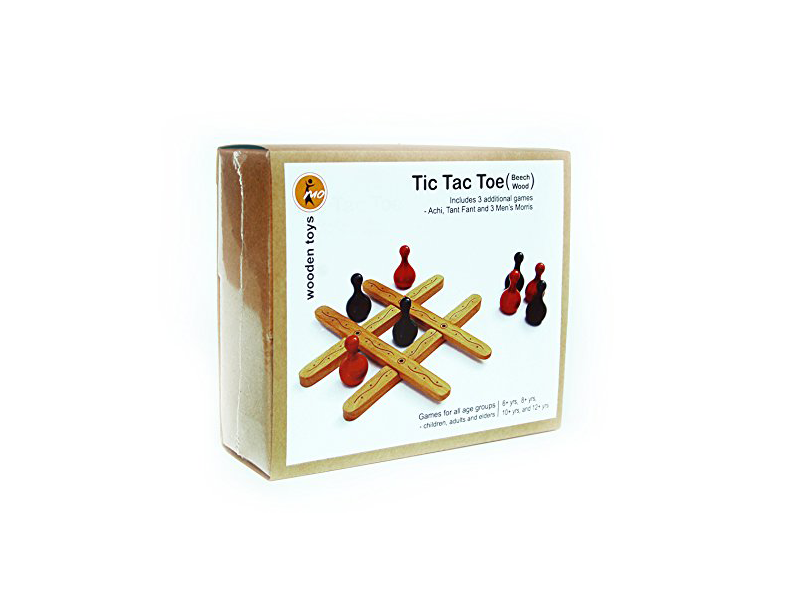 Tic Tac Toe - Maya Organic, Channapatna toys, 5 to 12 years