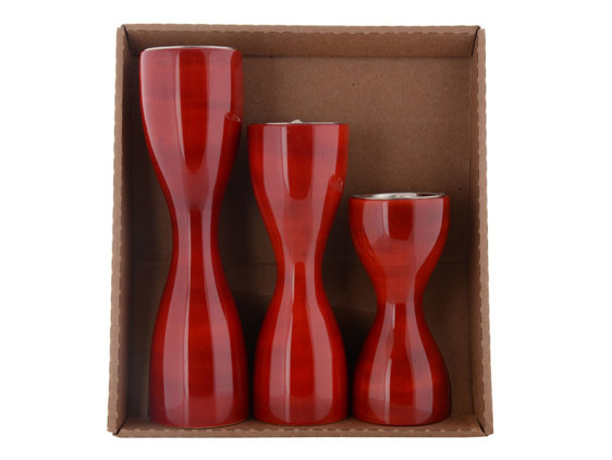 Triune Red Set of 3