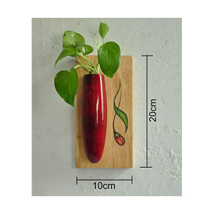 Wall Hanging Plant Holder Red2