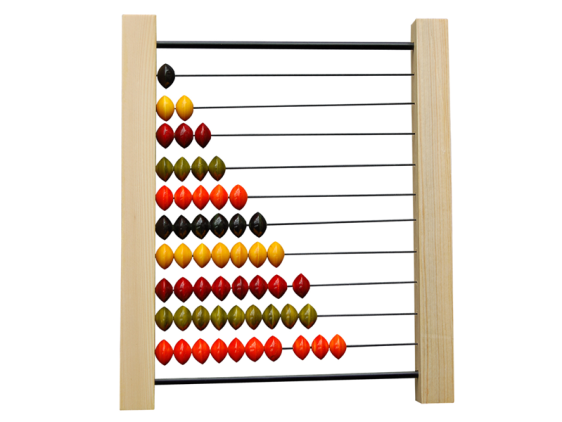 Abacus wooden toy for 3 - 4 years buy online