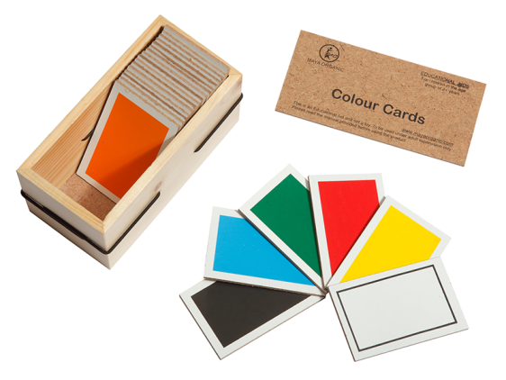 Color cards – Wooden Educational Toy, eco friendly – buy Online India