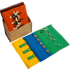 Dressing Frames - Wooden Educational Toy. Buy Online