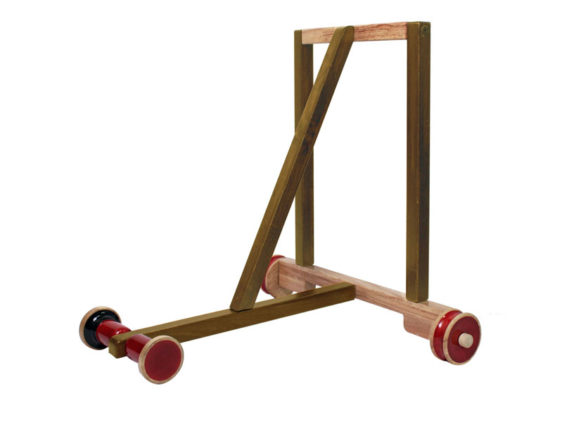 Wooden Baby Walker With Attachable Weight Box