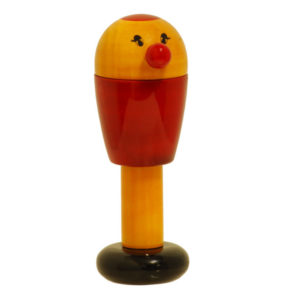birdie rattle_red